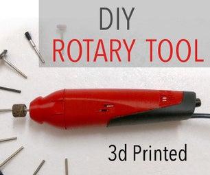 3d Printed DIY Dremel-style Rotary Tool