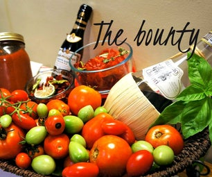 Get More Yield From Your Tomato Harvest and Preserving Techniques