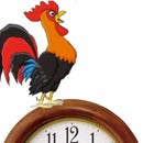 Raspberry Pi Rooster Clock