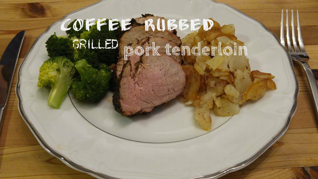 Picture of Coffee Rubbed Grilled Pork Tenderloin