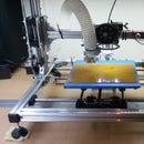 Modify Velleman K8200 3d printer to laser cutting.