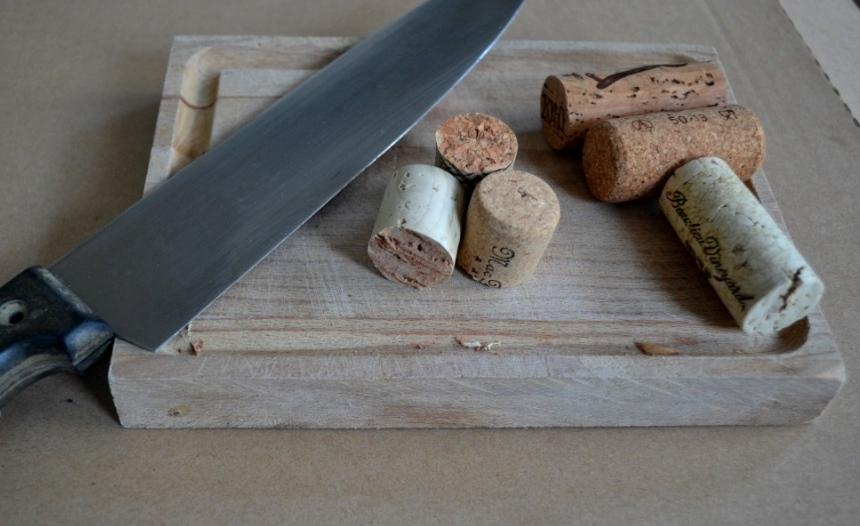 Picture of Cutting the Corks