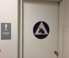 Gender Inclusive Toilet Sign