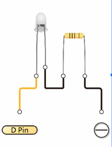 Make the Line for the Lightbulbs