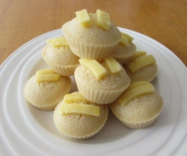 Steamed Butter Muffins With Cheese (Butter Puto)
