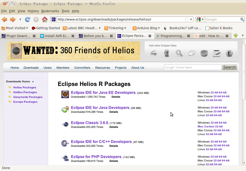 Picture of Download and Install Eclipse