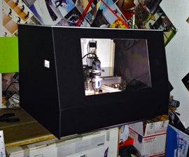 Shapeoko 2 Dust Cabinet With Lighting
