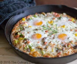 How to Make Breakfast Pizza