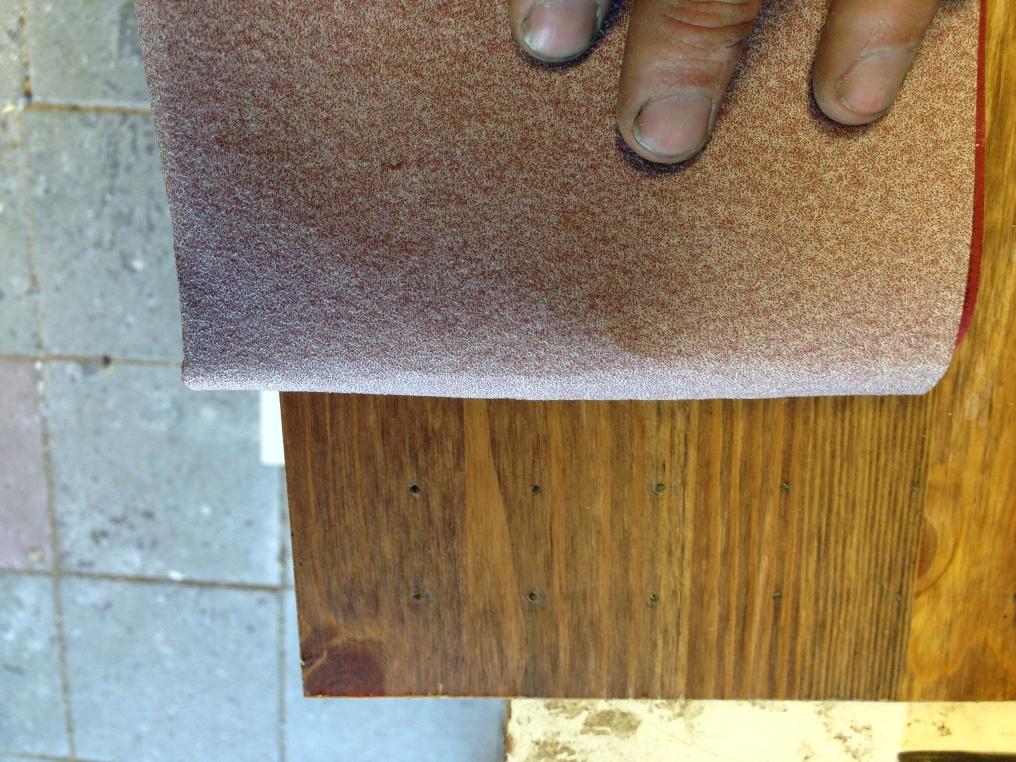 Picture of Sand and Wax the Board