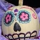 Day of the Dead Pumpkin!