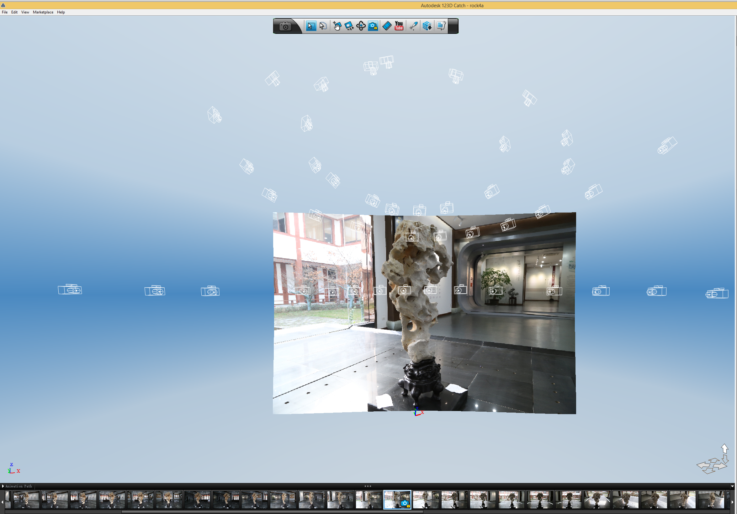 Picture of Import the Photos, Then Export As .obj
