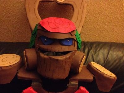 Skylanders Tree Rex Costume