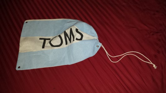 Getting the Toms Bag Ready