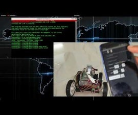 Mobile Phone Accelerometer Controlled Robot Using Raspberry Pi