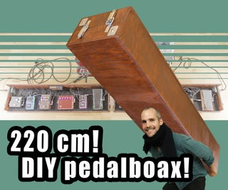Effects Pedal Board Box Tutorial! Guitar / Bass DIY