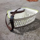 Fly Fishing Stripping Basket Made From Repurposed Child's Stool