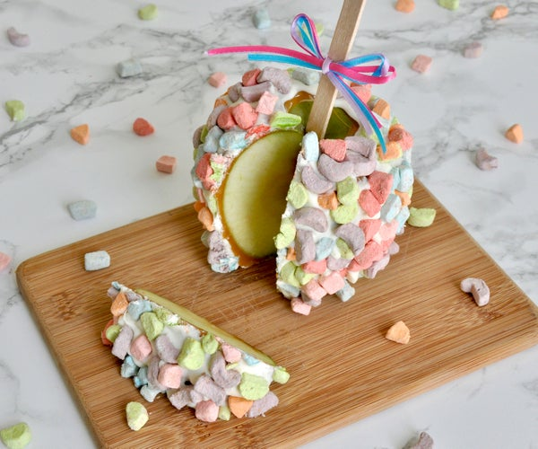 Cereal Marshmallow Caramel Apple