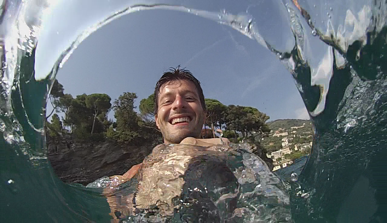 """Picture of """"Water Hole"""" GoPro Selfie"""