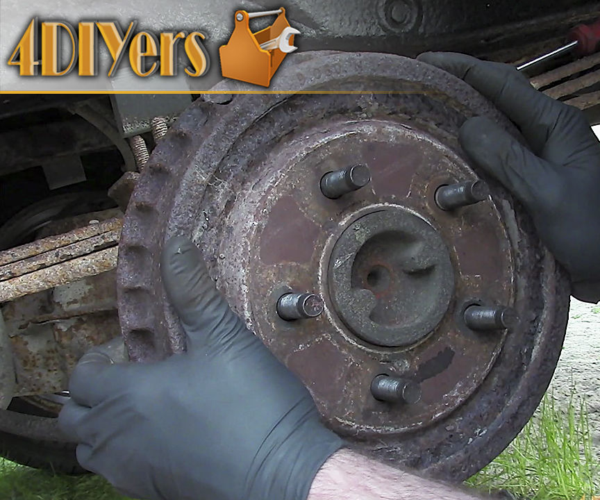 5 Ways How to Remove a Stuck Brake Drum: 5 Steps (with Pictures)