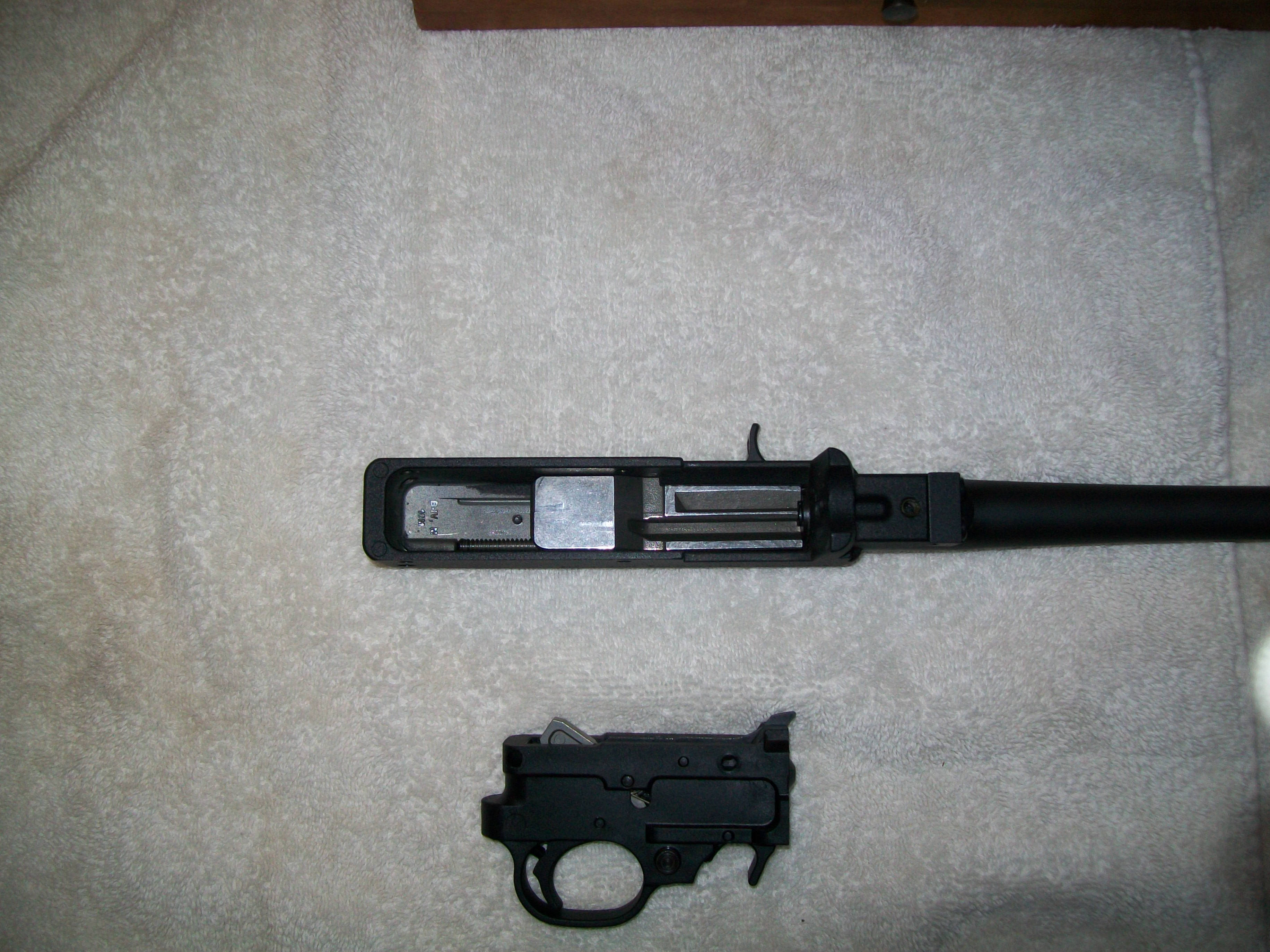 Picture of Remove Trigger Assembly