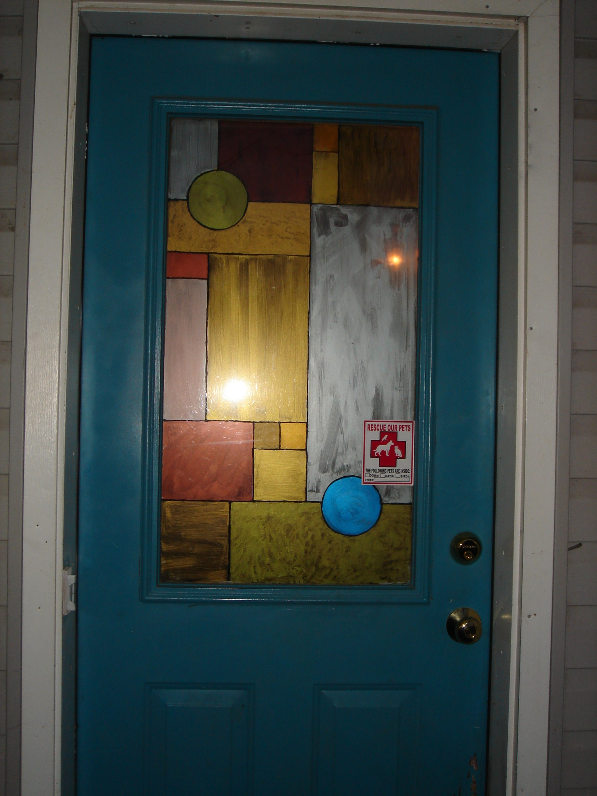 Faux Stained Glass Window: 4 Steps (with Pictures)
