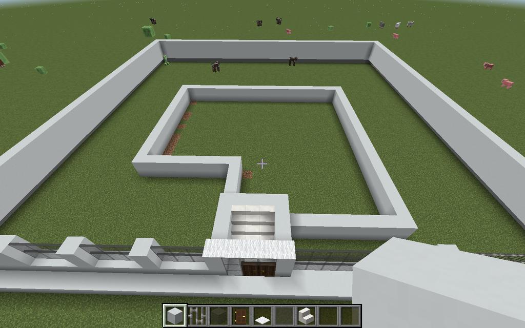 minecraft houses step by step modern