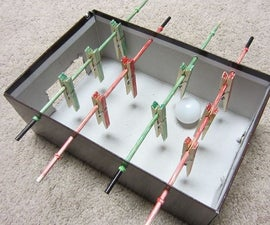 How to Make a Mini Foosball Table