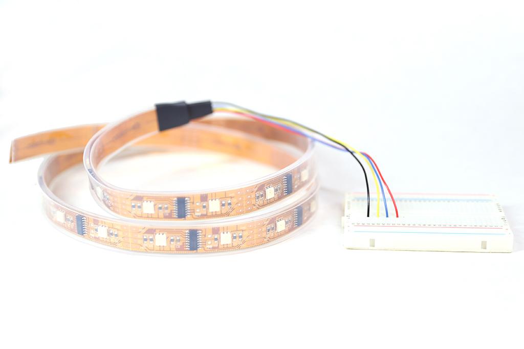 Picture of Wiring - 5 Volt Digital Strip