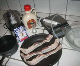 Molecular Gastronomy: Bacon Infused Agar Spaghetti