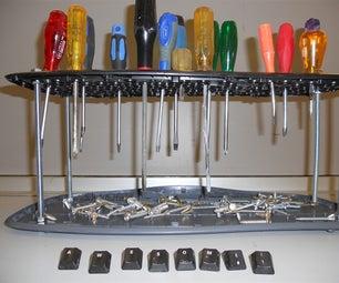Keyboard Screwdriver Rack!