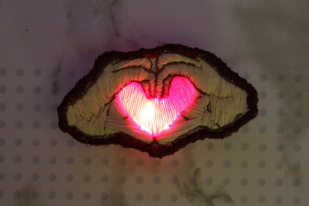 How to Sew an LED Into Your Embroidery Project