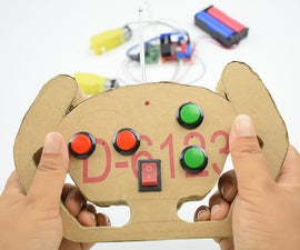 Ordinary Remote Control Kit Transformed Into Four-channel RC Toy Remote Control