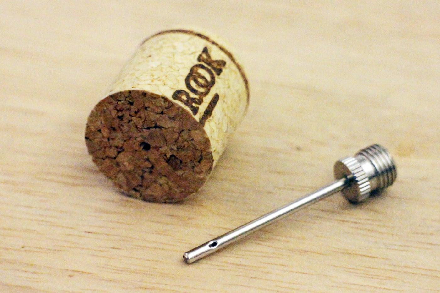Drill Into Cork