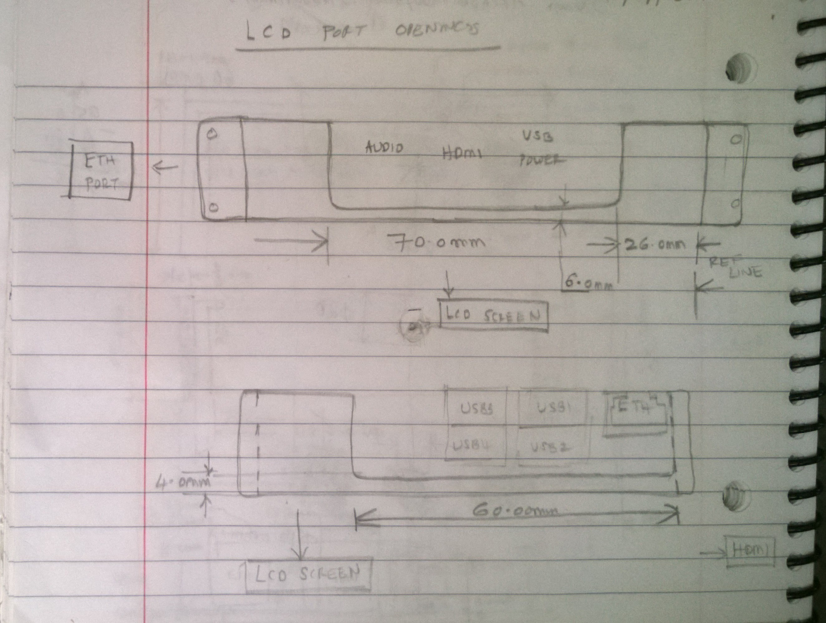 Picture of Designing the LCD-Pi Case