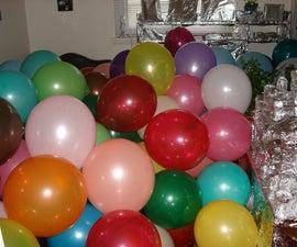 Balloon and Aluminum Foil Prank
