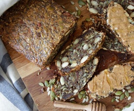 Nut and Seed Bread (Grain & Gluten Free, Dairy Free)