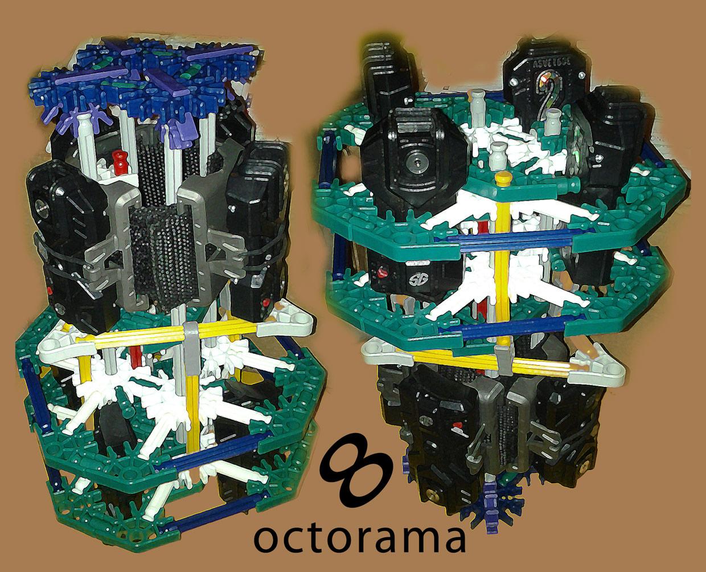 Picture of Octopanagraphic: Multi-camera Panoramic Rig