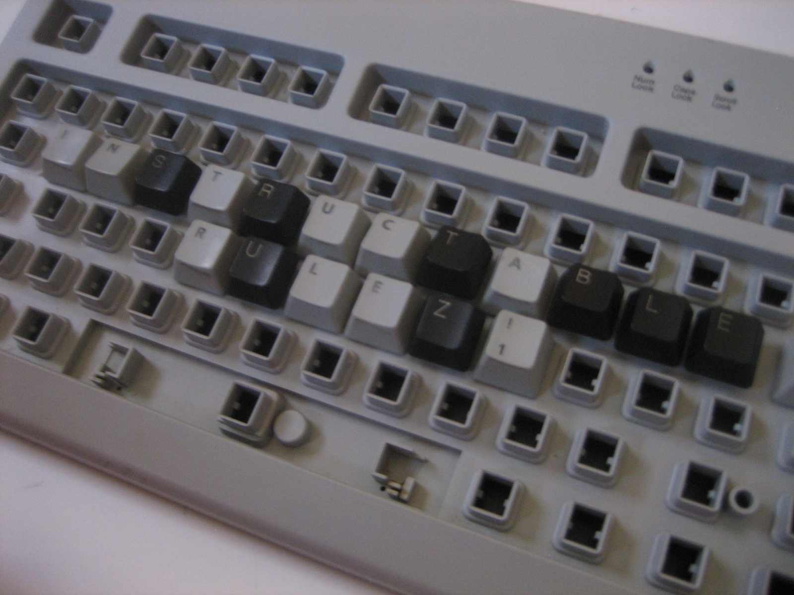Picture of Keyboard Message Board