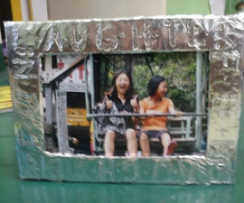 10min Foil Photo Frame
