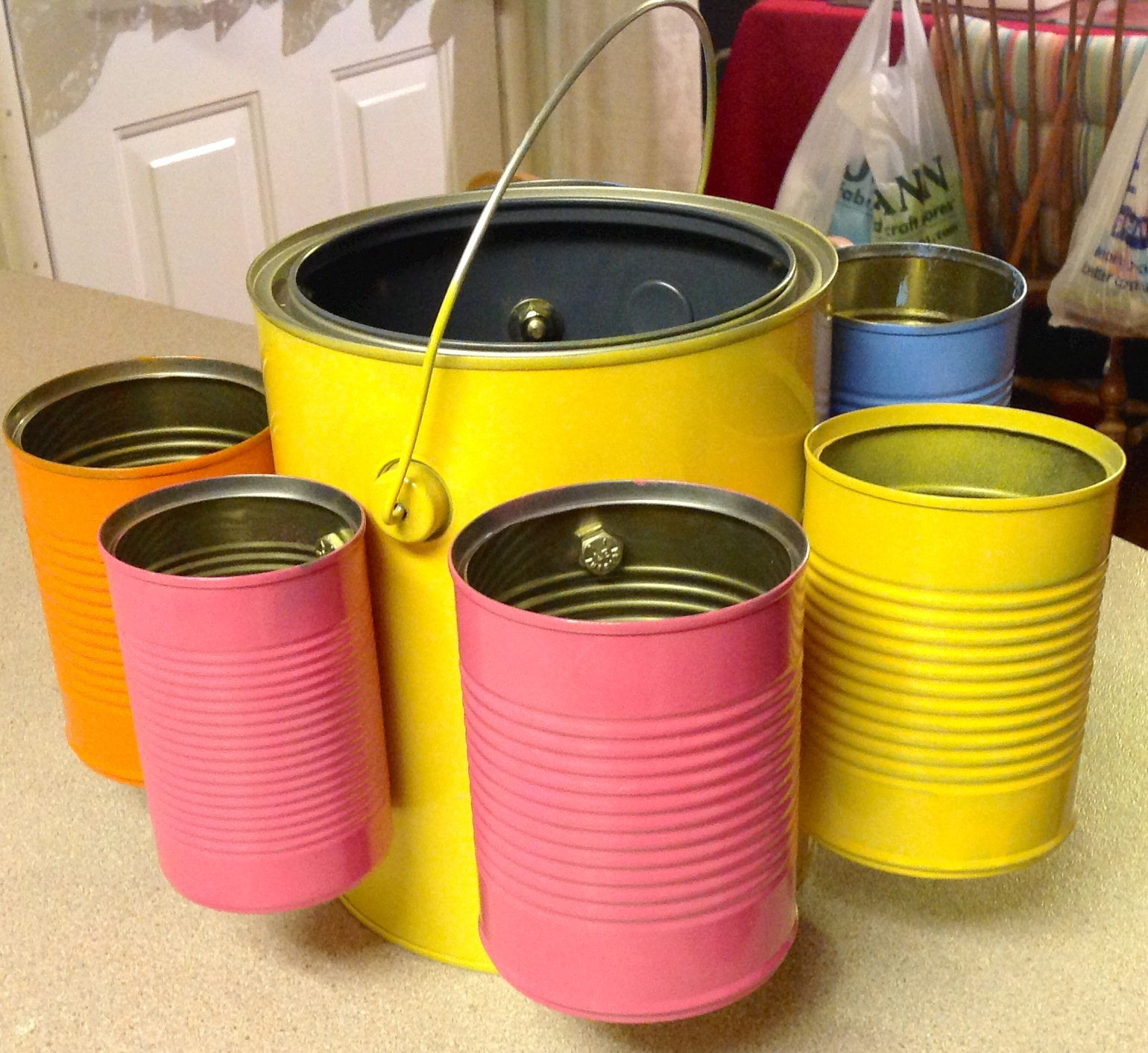 Picture of Tin Can Organizer !
