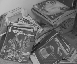 How to Organize Magazine Clutter