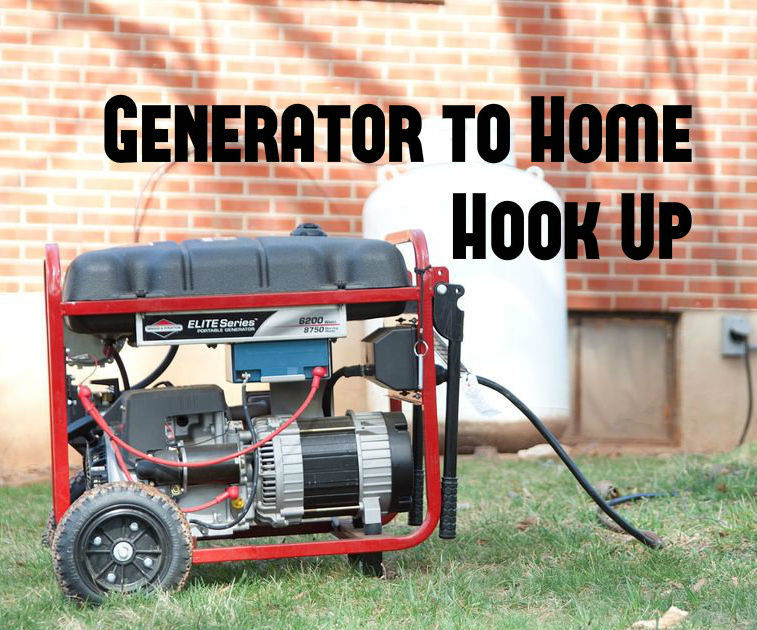 easy generator to home hook up 14 steps with pictures rh instructables com backfeed generator into breaker box 200 Amp Breaker Box Wiring