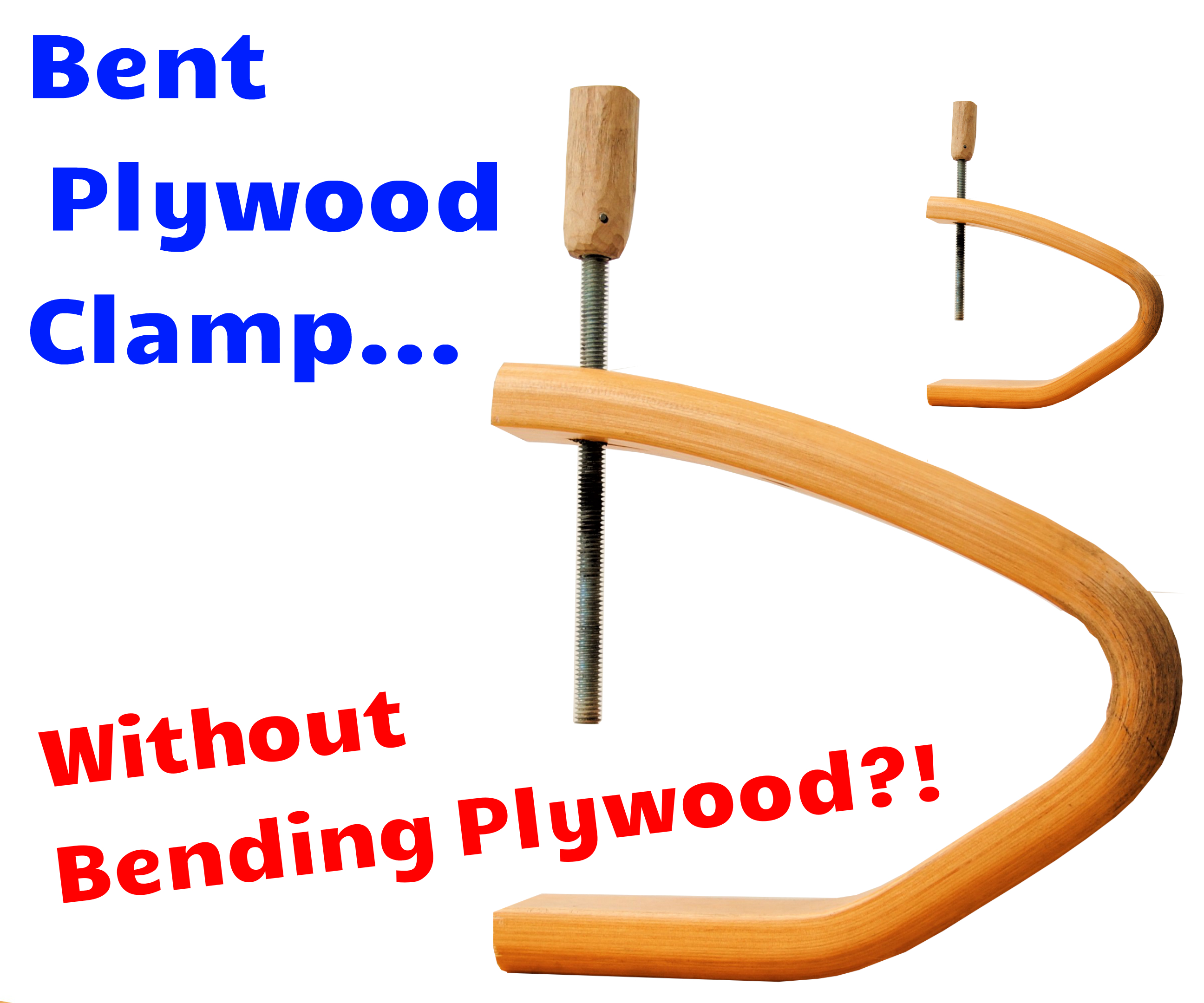 Picture of DIY Bent Plywood Long Reach C-Clamps Without Bending Plywood! (Broken Sofa to Clamp!)