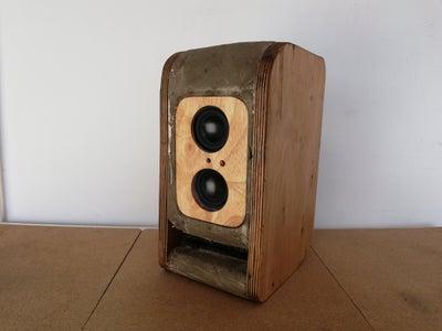 Concrete Transmission Line Bluetooth Speaker