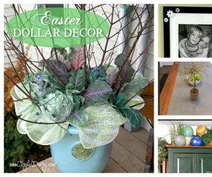 DOLLAR DECOR - Spring/Easter Decorating