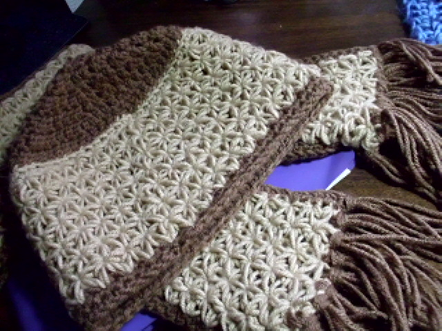 Picture of Star Gather Crocheted Scarf