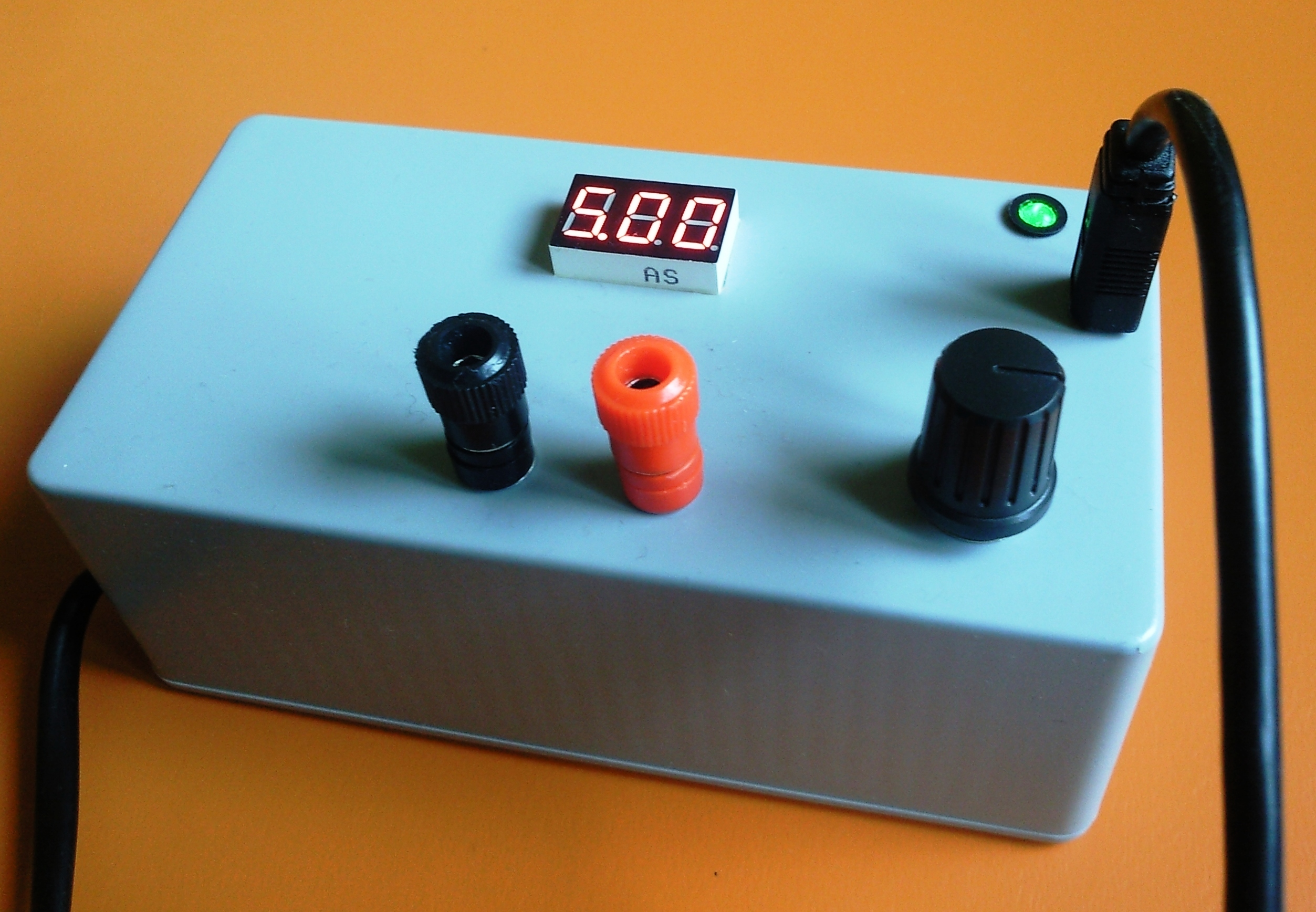 Picture of Arduino Controlled Power Supply Source