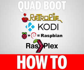 Quad Boot Raspberry Pi