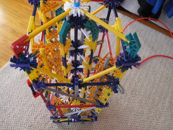Picture of Attach the Tower and Base