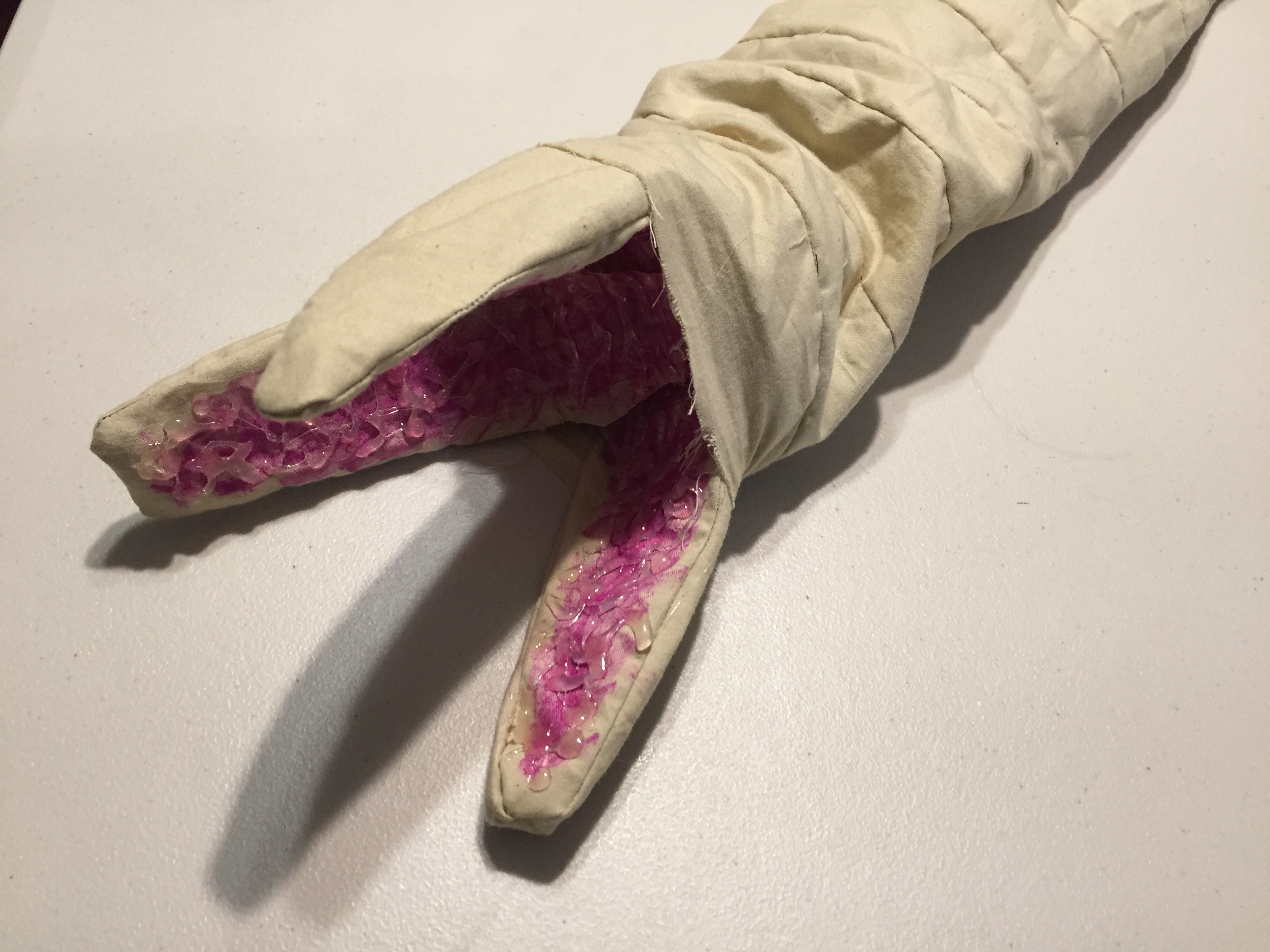 Picture of Dune Shai Hulud Sandworm Puppet